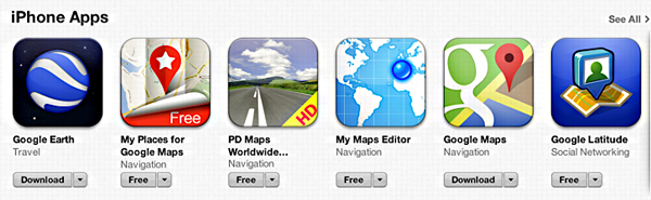 google-maps-for-apple-iphone