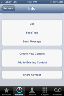 how to add phone contact to apple iphone