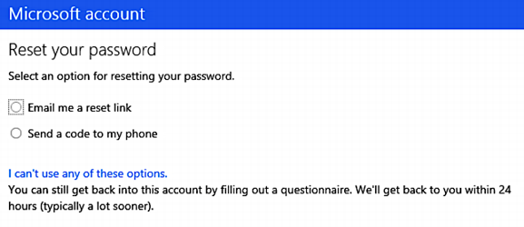 How do I reset / recover my lost Microsoft Account ...
