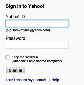 i cannot recover my yahoo account
