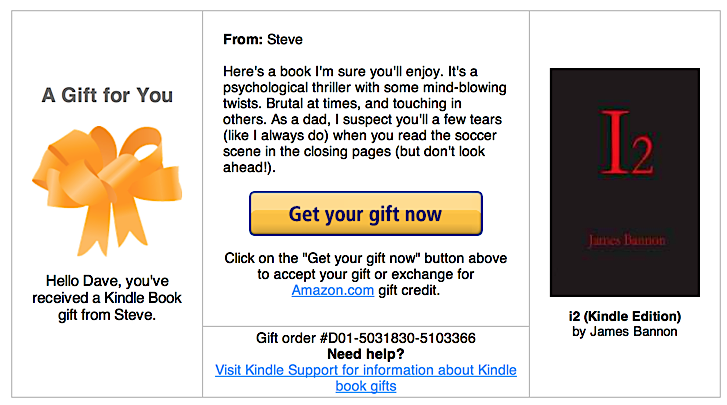 How do I redeem a Kindle bookstore gift book code? November 21, / Dave Taylor / Amazon Kindle Help / 4 Comments My brother sent me a gift code for a Kindle book but I'm a bit confused as to how to actually get it onto my Kindle Fire.