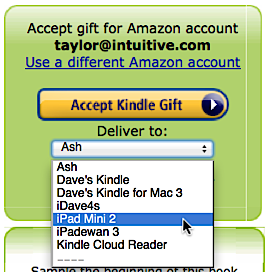 How do I redeem a Kindle bookstore gift book code? - Ask