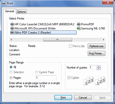 How do I Save As PDF from within Internet Explorer (IE9)?