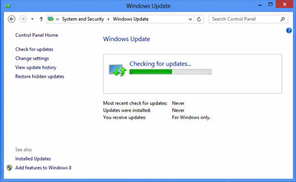 Run quot;Software Updatequot; in Windows 8?  Ask Dave Taylor