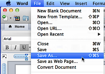 save word document in a6 pdf