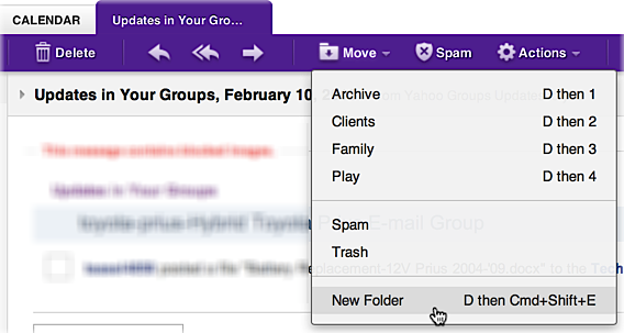 Can i organize my yahoo mail with folders ask dave taylor ymail ccuart Gallery
