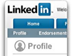 get linkedin profile url