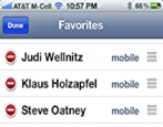 how to add delete favorites apple iphone ios