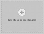 how to create a secret pinterest board