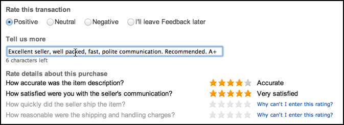 How Do I Leave Feedback For An Ebay Seller Ask Dave Taylor