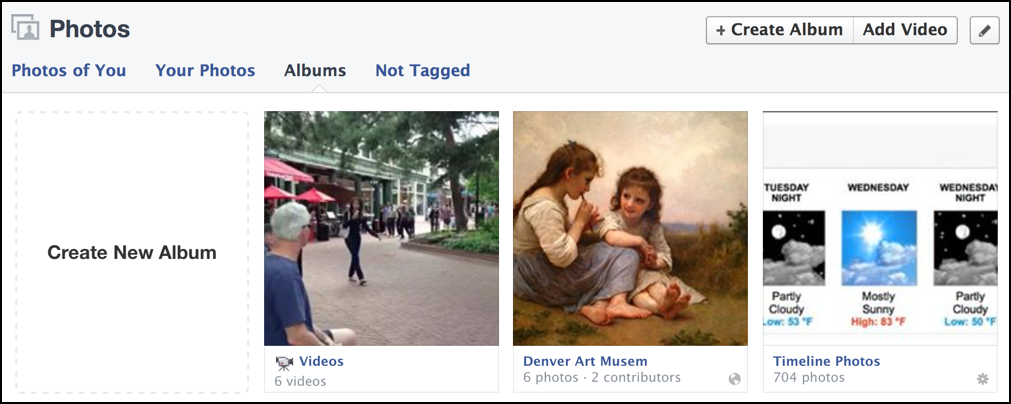how to add contributors to facebook album