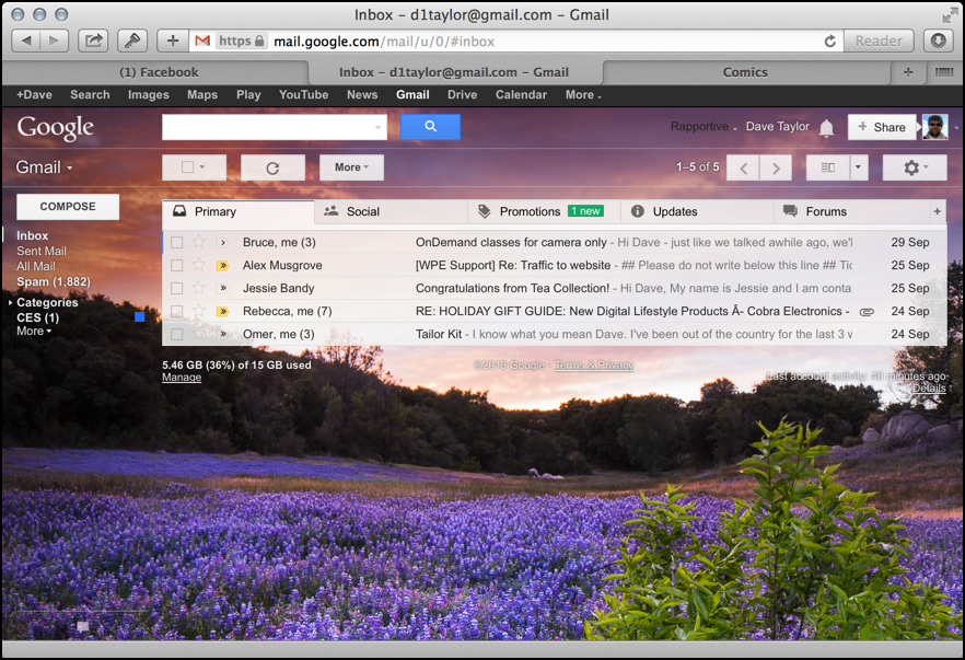 how do i install a custom gmail wallpaper photograph or image ask