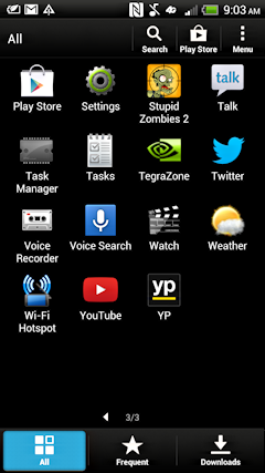 android settings and preferences