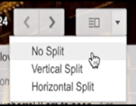 gmail split layout