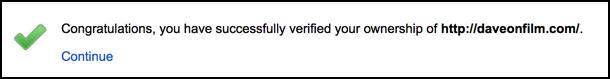 site verified