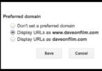 verify domain google webmaster tools