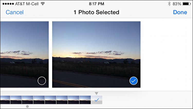 iphone burst mode how do i work with quot burst mode quot photos on the iphone 5s 11666