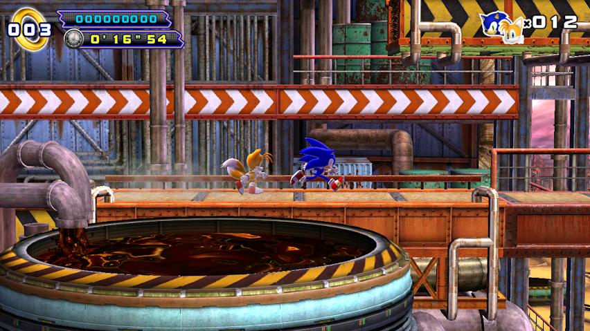 SEGA Sonic the Hedgehog OUYA