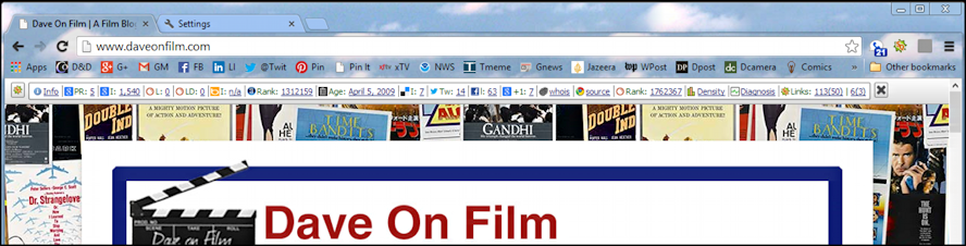 dave on film seo analytics