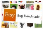 etsy 'buy handmade' logo