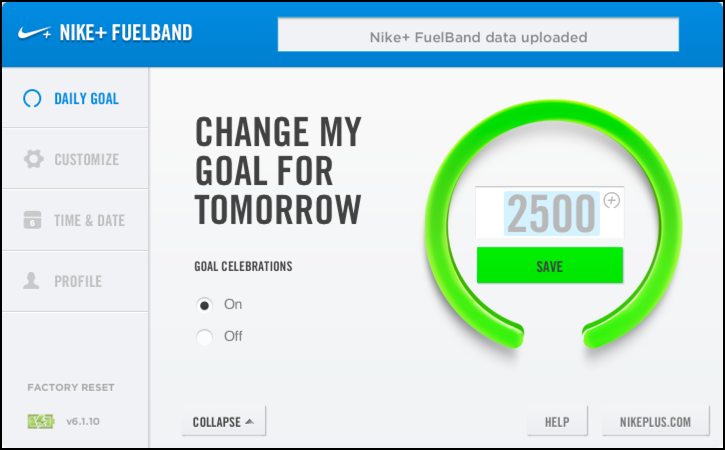 nike connect fuelband