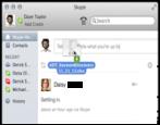 transfer files via skype