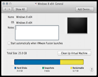 VMWare Fusion is eating up my hard drive! Help! - Ask Dave