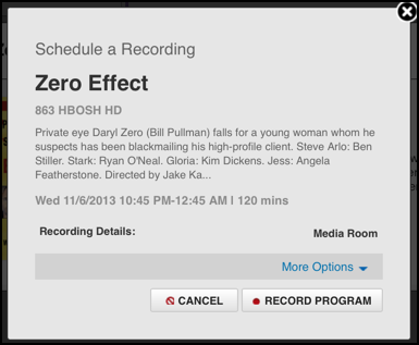 Can I schedule DVR recordings via the Xfinity web page? - Ask Dave