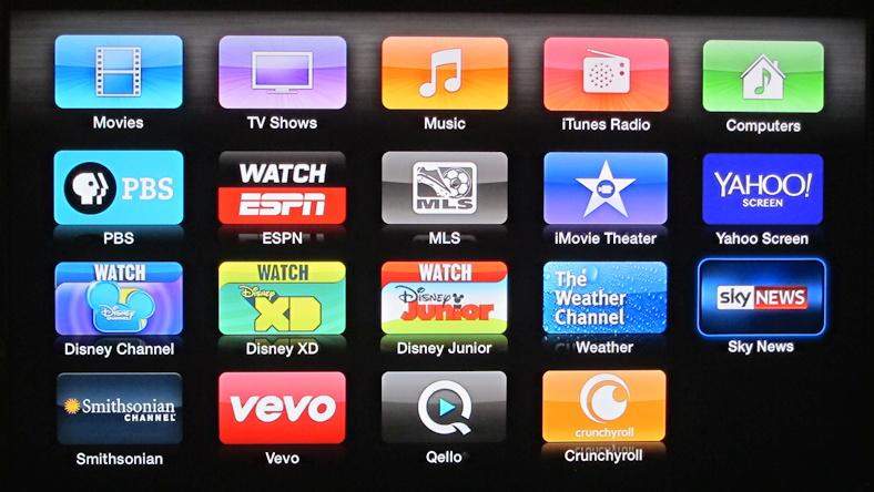 how to watch tv on apple tv