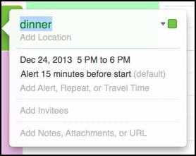 add ical calendar event mac