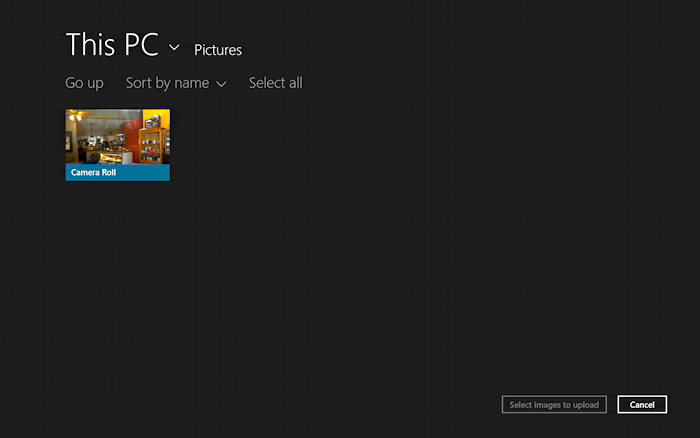 photo albums in win8