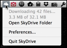 skydrive icon menu bar mac