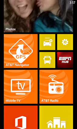 windows mobile nokia settings start tile button icon