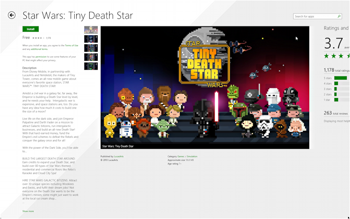 Star Wars: Tiny Death Star in the App Store
