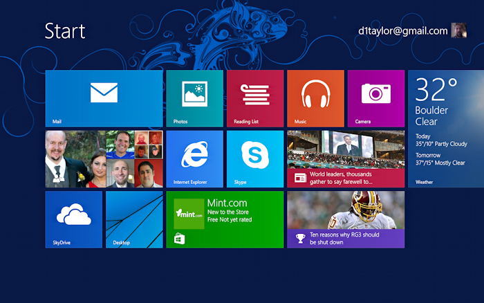 windows 8.1 - find the camera app tile