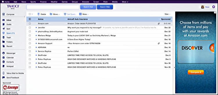 How do I customize my Yahoo Mail with a theme? - Ask Dave Taylor