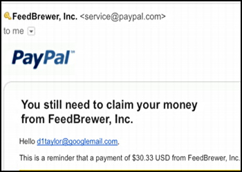 Does PayPal ever send email about unclaimed money? - Ask