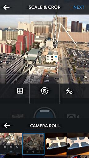 camera roll identified in Instagram iPhone 5c