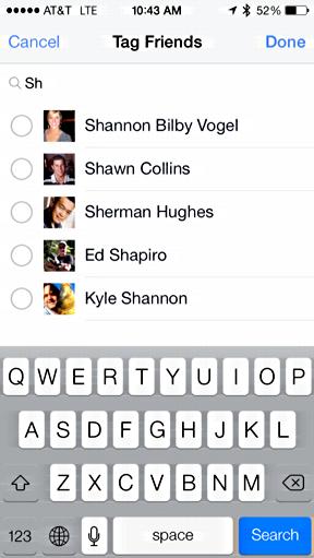identify people in facebook
