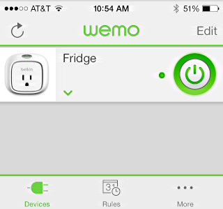 wemo insight from belkin, iphone / ipad app