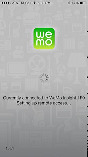 wemo app on apple iphone