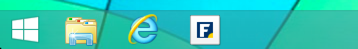 website bookmark as new button on task bar