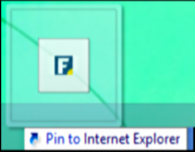 pin to msie 11 internet explorer win 8