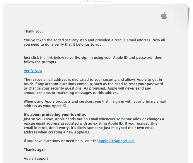 Beware of Apple ID Confirmation Phishing Email Attacks! - Ask Dave ...