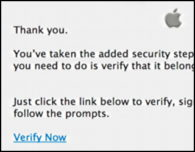 dangerous apple id phishing attempt