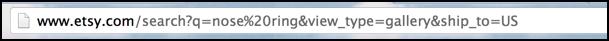 etsy search url