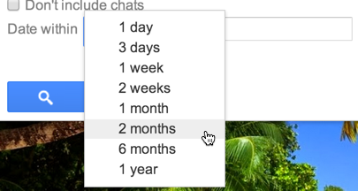 search within date range google mail