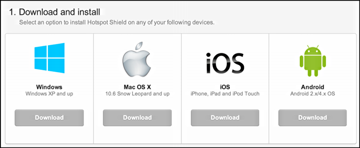 mac, windows, ios, android support