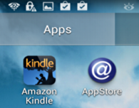 kindle app in android