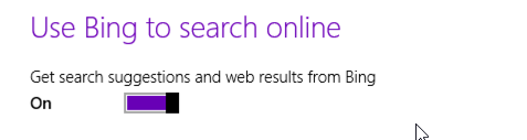 disable search tips